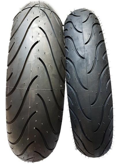 Combo Pneu Moto Michelin Pilot Street 110/70-17 + 150/60-17