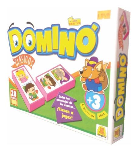 Domino Cuentos Clasicos Implas 28 Piezas