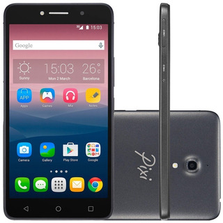 Smartphone Alcatel Pixi4 ( 8050e ) 6 | Negro | 8gb Rom |