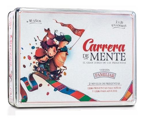 Carrera De Mente Edicion Familiar Lata Ruibal Original Lelab