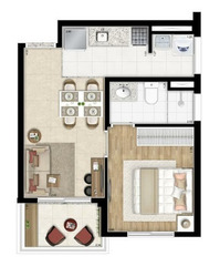 Apartamento Sp New Republica Para Venda Proximo Ao Metro