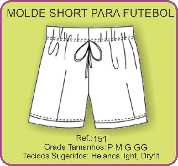 Molde De Short Para Futebol 151