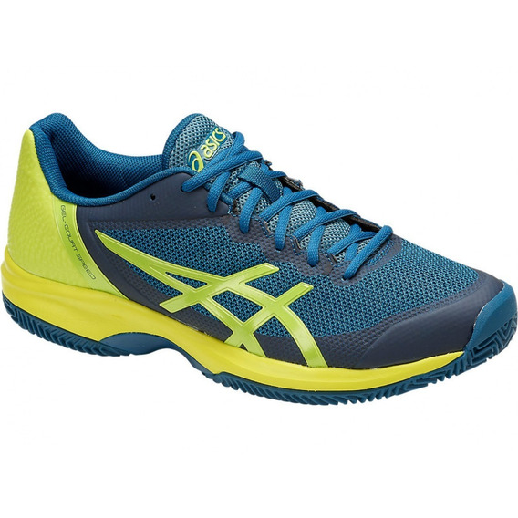 Tênis Asics Gel Court Speed Azul E Amarelo
