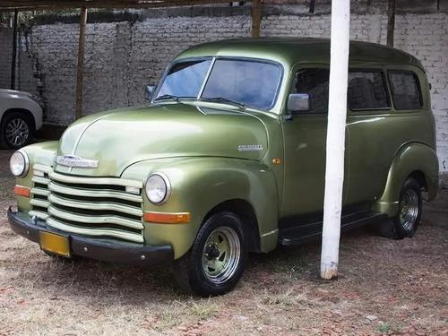 Camioneta Chevrolet Panel Antigua De Coleccion 1950