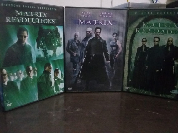Trilogia Matrix 3 Dvds
