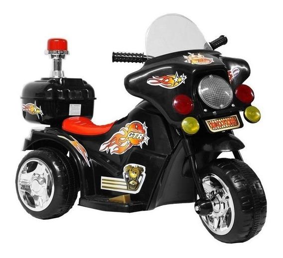 Mini Moto Eletrica Infantil Menino Menina Bateria Luzes Som