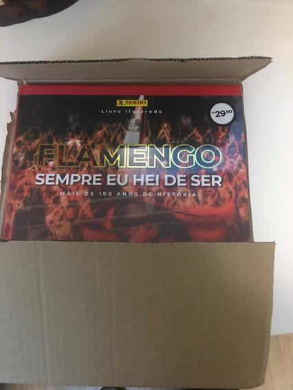 Álbum Do Flamengo Capa Dura 2019 Com 250 Figurinhas Coladas