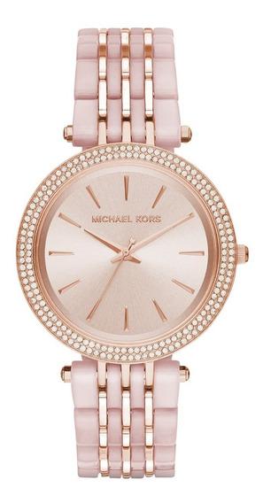 Reloj Michael Kors Mk4327 Darci Rose Gold & Blush Watch