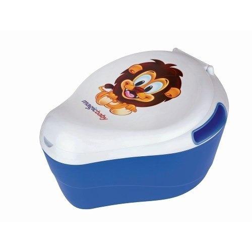 Troninho Azul Leão - Magic Toys