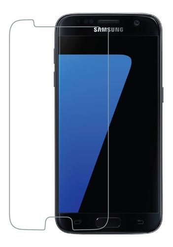 Vidrio Templado Mica Samsung Galaxy S7 Protector Colocado