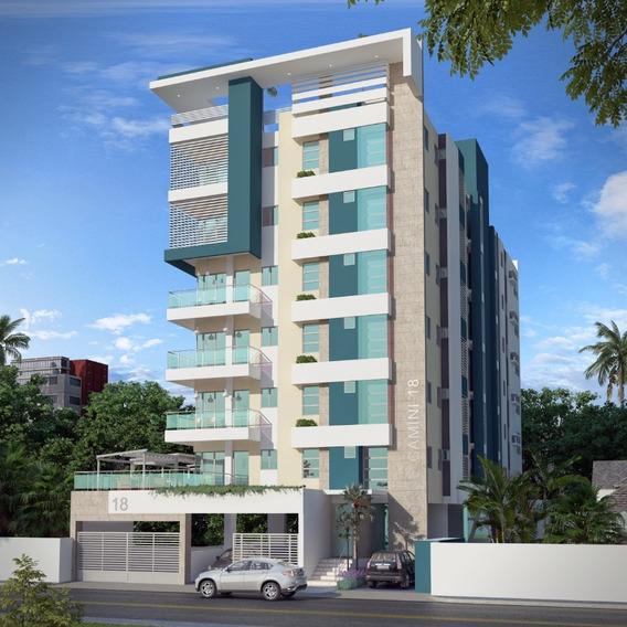 Aparatmento De 2 Habitaciones En Torre Residencial