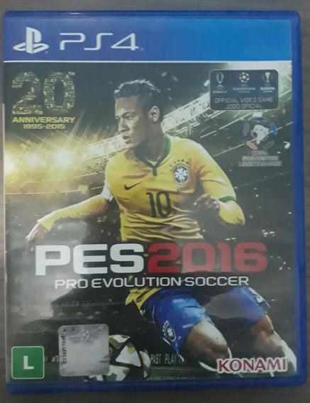 Jogos Ps4 Pes 2016 Proevolutions Soccer