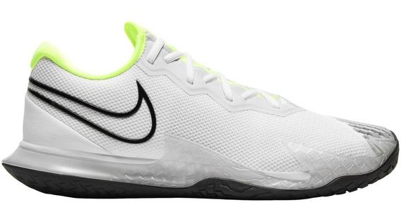 Tênis Nike Air Zoom Vapor Cage 4 Hc Branco E Verde Limão
