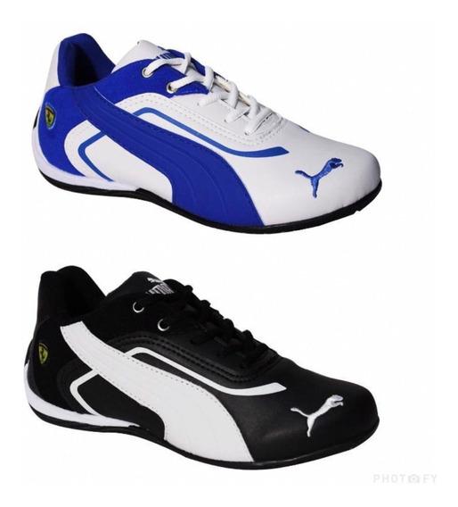 Kit 2pares Tenis Masculino Bmw Esportivo Frete Gratis