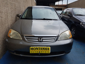 Honda Civic Lx Ano 2003 Automatico Montanha Automoveis