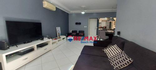 Imagem 1 de 26 de Apartamento Com 3 Dormitórios À Venda, 120 M² Por R$ 580.000,00 - Barra Funda - Guarujá/sp - Ap3275