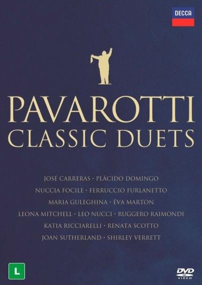 Dvd Pavarotti - Classic Duetos