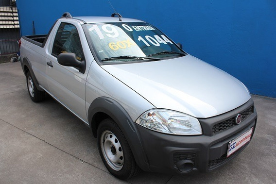 Fiat Strada Hard Working 1.4 Financiamento Zero De Entrada