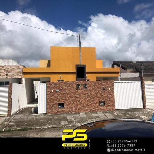 Casa Com 2 Dormitórios À Venda Por R$ 135.000 - Gramame - João Pessoa/pb - Ca0775