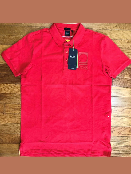 Playera Polo Hugo Boss 100% Original Slim Fit Stretch