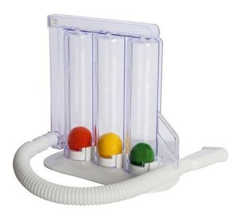 Imagen 1 de 9 de Inspirometro Ejercitador Pulmonar Respiratorio Vitality