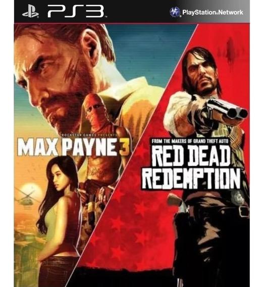 Max Payne 3+red Dead Original Psn Ps3 Envio Rápido Promoção