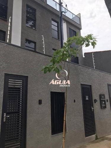 Cobertura À Venda, 50 M² Por R$ 308.000,00 - Jardim Utinga - Santo André/sp - Co0792
