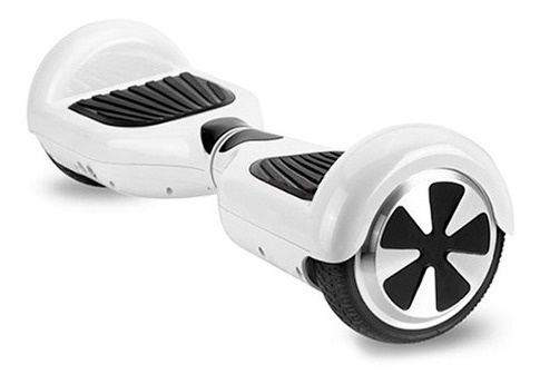 Balance Scooter Eléctrico Bateria Litio, Blanco, Bluetooth