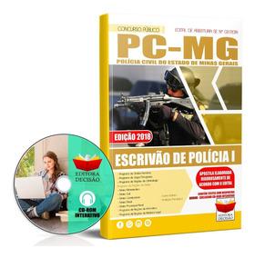 Apostila Polícia Civil-mg - Escrivão De Polícia - Atualizada