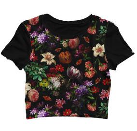 3e9fd7e7e12 Cropped Adidas Floral - Camisetas e Blusas para Masculino no Mercado ...