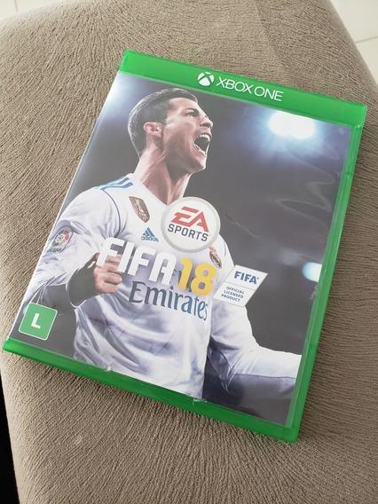 Fifa 18 Xbox One Mídia Original