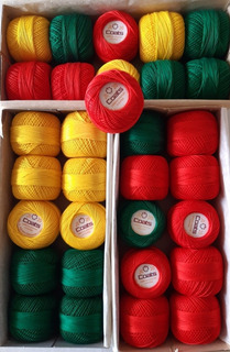 Hilo Para Tejer Coats (mercer Crochet, Cadena)
