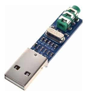 Pcm2704 Usb Tarjeta Sonido Usb Dac Audio 16 Bits Itytarg