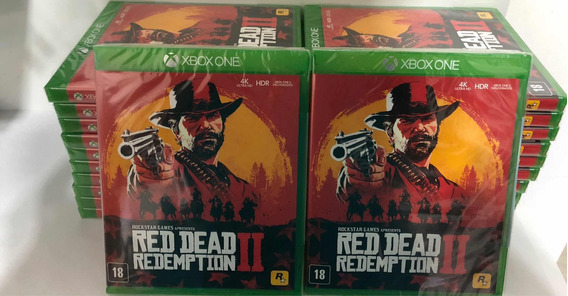 Red Dead Redemption 2 Xbox One Promoção Mídia Física + Mapa