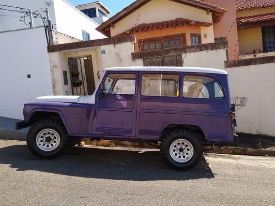 Rural Willys Direção Hidráulica Banco De Couro