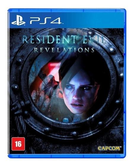 Jogo Ps4 Resident Evil Revelations - Novo - Lacrado