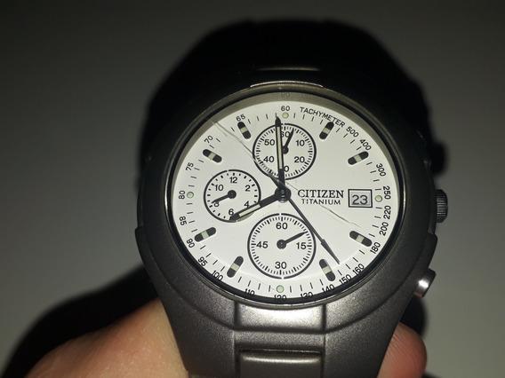 Relógio Citizen Titanium, Original. Com Um Detalhe. Fotos.