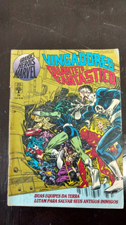 Hq Grandes Herois Marvel Vingadores E Quarteto Fantastico
