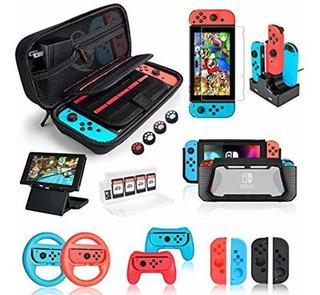 Funda De Nintendo Switch, Juego De Accesorios