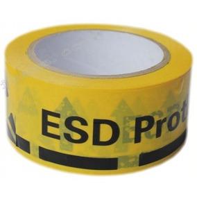 Fita Adesiva Antiestática Esd P/ Chão 60mm X 30m