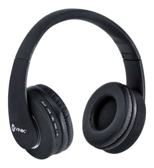 Fone Headset Bluetooth Easy Wh C/ Leitor Micro Sd Preto