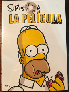 Dvd Los Simpson La Pelicula / The Simpsons Movie