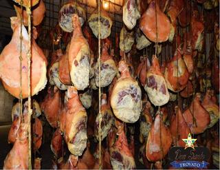 Pata De Jamón Crudo Con Hueso Tipo Parma