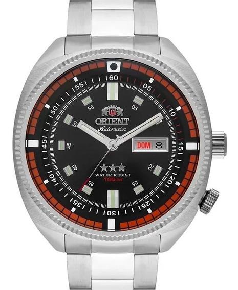 Relógio Orient Automatico Masculino Prata - F49ss002 P1sx