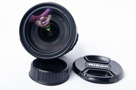 Nikon Af-s 18-200mm F/3.5-5.6 G Ed Vr Dx Impecável