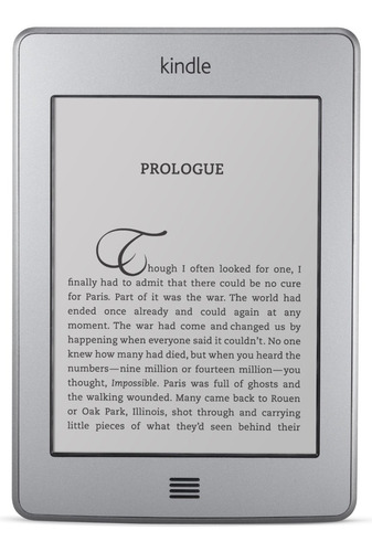 Imagen 1 de 2 de Kindle Touch 4gb Wifi + 3g Celular - Blobo Store