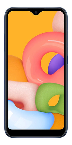 Samsung Galaxy A01 16 GB azul 2 GB RAM