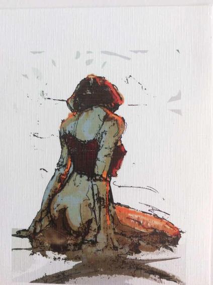 Gravura Assinada E Numerada - Artista Sousa Rodrigues