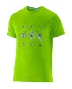 Remera Salomon - Adventure Ss Cotton Tee K - Kids