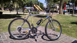 Bicicleta Cromada Rod 26 21 Vel
